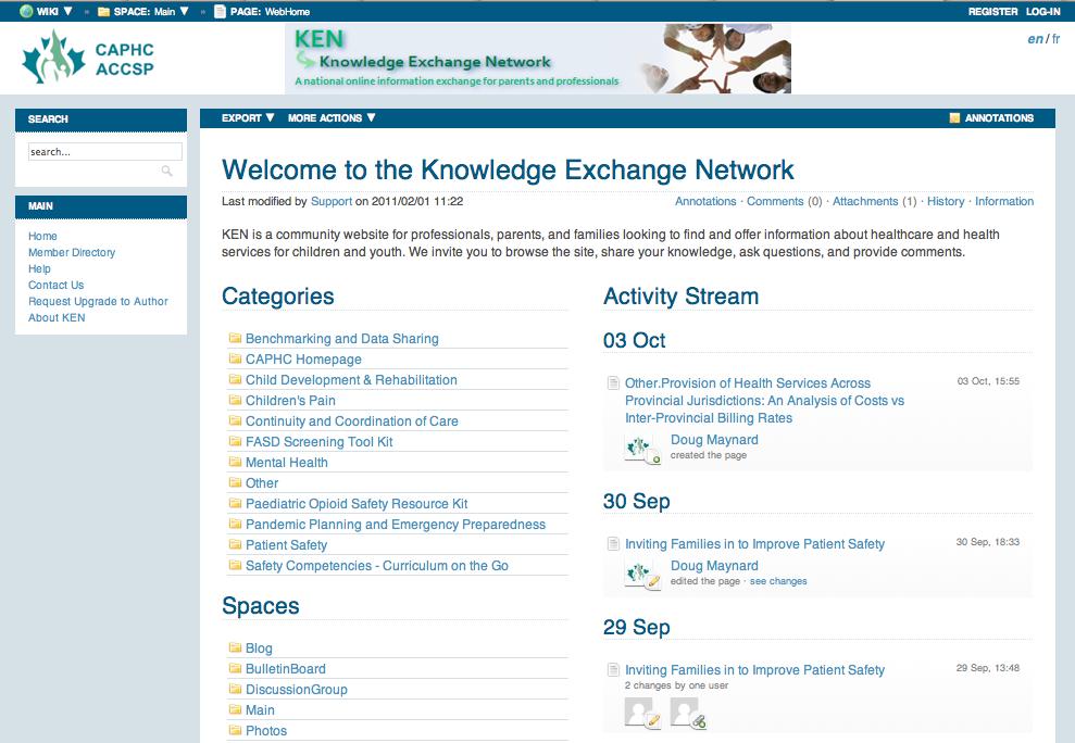 Knowledge Exchange Network